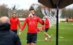 SOUTHAMPTON, ENGLAND - MARCH 13: Jack Stephens during a Southampton FC training session at Staplewood Complex on March 18, 2019 in Southampton, England. (Photo by James Bridle - Southampton FC/Southampton FC via Getty Images)