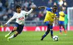 LONDON, ENGLAND - MARCH 24:  Lucas Defice (right) during the U18s Premier League match between Tottenham Hot Spur and Southampton FC at Tottenham Hotspur Stadium on March 24, 2019 in London, England. (Photo by James Bridle - Southampton FC/Southampton FC via Getty Images)