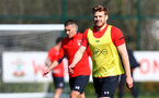 SOUTHAMPTON, ENGLAND - MARCH 27: Stuart Armstrong during a Southampton FC training session at the Staplewood Campus on March 27, 2019 in Southampton, England. (Photo by Matt Watson/Southampton FC via Getty Images)