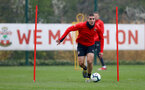SOUTHAMPTON, ENGLAND - APRIL 09: Oriol Romeu during a training session at the Staplewood Campus on April 09, 2019 in Southampton, England. (Photo by Matt Watson/Southampton FC via Getty Images)