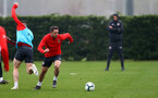 SOUTHAMPTON, ENGLAND - APRIL 09: Danny Ings during a training session at the Staplewood Campus on April 09, 2019 in Southampton, England. (Photo by Matt Watson/Southampton FC via Getty Images)