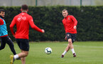 SOUTHAMPTON, ENGLAND - APRIL 09: James Ward-Prowse during a training session at the Staplewood Campus on April 09, 2019 in Southampton, England. (Photo by Matt Watson/Southampton FC via Getty Images)