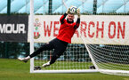 SOUTHAMPTON, ENGLAND - APRIL 09: Fraser Forster during a training session at the Staplewood Campus on April 09, 2019 in Southampton, England. (Photo by Matt Watson/Southampton FC via Getty Images)