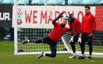 SOUTHAMPTON, ENGLAND - APRIL 09: Angus Gunn during a training session at the Staplewood Campus on April 09, 2019 in Southampton, England. (Photo by Matt Watson/Southampton FC via Getty Images)