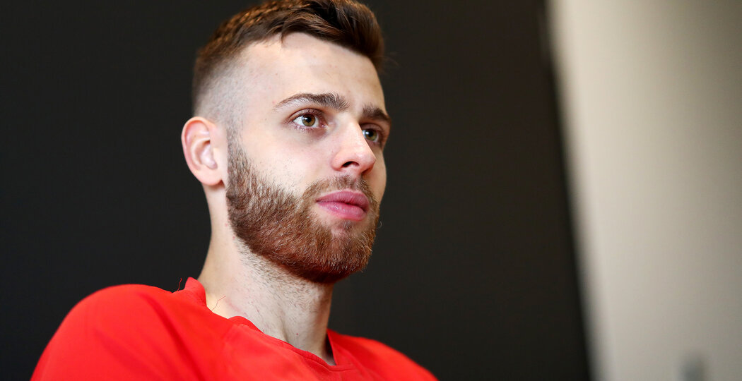SOUTHAMPTON, ENGLAND - APRIL 09: Angus Gunn of Southampton pictured at Staplewood Campus, for the club's match day magazine, on April 09, 2019 in Southampton, England. (Photo by Matt Watson/Southampton FC via Getty Images)