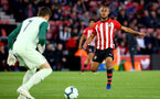 SOUTHAMPTON, ENGLAND - APRIL 10: Tyreke Johnson (right) during the International PL Cup match between Southampton FC and Dinamo Zagreb, pictured at St. Mary's Stadium on April 10, 2019 in Southampton, England. (Photo by James Bridle - Southampton FC/Southampton FC via Getty Images) (Photo by James Bridle - Southampton FC/Southampton FC via Getty Images)