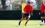 SOUTHAMPTON, ENGLAND - APRIL 11: Mohamed Elyounoussi during a Southampton FC training session at the Staplewood Campus on April 11, 2019 in Southampton, England. (Photo by Matt Watson/Southampton FC via Getty Images)