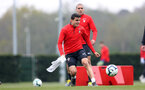 SOUTHAMPTON, ENGLAND - APRIL 16: Mohamed Elyounoussi during a Southampton FC training session at the Staplewood Campus on April 16, 2019 in Southampton, England. (Photo by Matt Watson/Southampton FC via Getty Images)