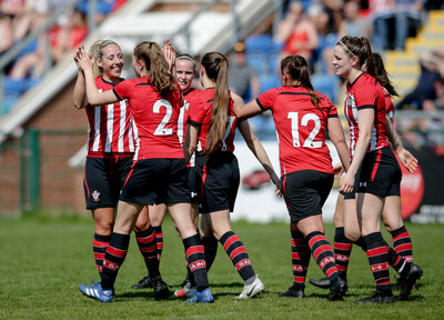 Support Women's team in today's final