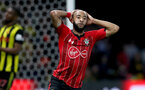WATFORD, ENGLAND - APRIL 23: Nathan Redmond of during the Premier League match between Watford FC and Southampton FC at Vicarage Road on April 23, 2019 in Watford, United Kingdom. (Photo by Matt Watson/Southampton FC via Getty Images)