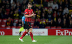 WATFORD, ENGLAND - APRIL 23: Shane Long of Southampton during the Premier League match between Watford FC and Southampton FC at Vicarage Road on April 23, 2019 in Watford, United Kingdom. (Photo by Matt Watson/Southampton FC via Getty Images)