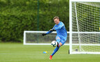 NORWICH, ENGLAND - APRIL 27: Jack Bycroft during a U18 Premier League match between Norwich City FC and Southampton FC pictured at Colney Training Ground on April 27, 2019 in Norwich, England. (Photo by James Bridle - Southampton FC/Southampton FC via Getty Images)