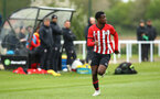 NORWICH, ENGLAND - APRIL 27: Rowland Idowu  during a U18 Premier League match between Norwich City FC and Southampton FC pictured at Colney Training Ground on April 27, 2019 in Norwich, England. (Photo by James Bridle - Southampton FC/Southampton FC via Getty Images)