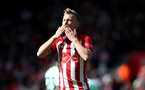 SOUTHAMPTON, ENGLAND - APRIL 27: James Ward-Prowse of Southampton celebrates during the Premier League match between Southampton FC and AFC Bournemouth at St Mary's Stadium on April 27, 2019 in Southampton, United Kingdom. (Photo by Matt Watson/Southampton FC via Getty Images)