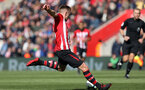 SOUTHAMPTON, ENGLAND - APRIL 27: James Ward-Prowse scores during the Premier League match between Southampton FC and AFC Bournemouth at St Mary's Stadium on April 27, 2019 in Southampton, United Kingdom. (Photo by Chris Moorhouse/Southampton FC via Getty Images)