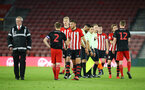 SOUTHAMPTON, ENGLAND - APRIL 29: Players shake hands after the final whistle is blown for the Premier League 2 match between Southampton FC and Sunderland pictured at St Mary's Stadium on April 29, 2019 in Southampton, England. (Photo by James Bridle - Southampton FC/Southampton FC via Getty Images)