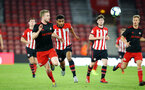 SOUTHAMPTON, ENGLAND - APRIL 29: Marcus Barnes (middle)  during the Premier League 2 match between Southampton FC and Sunderland pictured at St Mary's Stadium on April 29, 2019 in Southampton, England. (Photo by James Bridle - Southampton FC/Southampton FC via Getty Images)