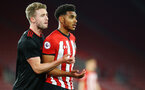 SOUTHAMPTON, ENGLAND - APRIL 29: Marcus Barnes (right) during the Premier League 2 match between Southampton FC and Sunderland pictured at St Mary's Stadium on April 29, 2019 in Southampton, England. (Photo by James Bridle - Southampton FC/Southampton FC via Getty Images)