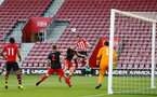 SOUTHAMPTON, ENGLAND - APRIL 29: Jake Vokins  (middle)  during the Premier League 2 match between Southampton FC and Sunderland pictured at St Mary's Stadium on April 29, 2019 in Southampton, England. (Photo by James Bridle - Southampton FC/Southampton FC via Getty Images)