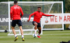SOUTHAMPTON, ENGLAND - MAY 01: Mario Lemina during a Southampton FC training session at the Staplewood Campus on May 01, 2019 in Southampton, England. (Photo by Matt Watson/Southampton FC via Getty Images)