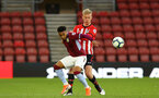 SOUTHAMPTON, ENGLAND - MAY 03: Christoph Klarer (right) during the U23s PL2 Play off Semi-Final between Southampton FC and Aston Villa FC pictured at St Mary's Stadium on May 03, 2019 in Southampton, England. (Photo by James Bridle - Southampton FC/Southampton FC via Getty Images)