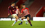 SOUTHAMPTON, ENGLAND - MAY 03: Tom O'Connor  (right) during the U23s PL2 Play off Semi-Final between Southampton FC and Aston Villa FC pictured at St Mary's Stadium on May 03, 2019 in Southampton, England. (Photo by James Bridle - Southampton FC/Southampton FC via Getty Images)