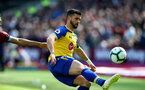 LONDON, ENGLAND - MAY 04: Shane Long of Southampton during the Premier League match between West Ham United and Southampton FC at the London Stadium on May 04, 2019 in London, United Kingdom. (Photo by Matt Watson/Southampton FC via Getty Images)