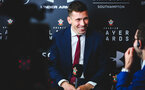 SOUTHAMPTON, ENGLAND - MAY 07:  Pierre-Emile H¿jbjerg during the Southampton FC 2018/19 Player Awards pictured at St Marys Stadium on May 7, 2019 in Southampton, England. (Photo by James Bridle - Southampton FC/Southampton FC via Getty Images) SOUTHAMPTON, ENGLAND - MAY 07:  Pierre-Emile Højbjerg during the Southampton FC 2018/19 Player Awards pictured at St Marys Stadium on May 7, 2019 in Southampton, England. (Photo by James Bridle - Southampton FC/Southampton FC via Getty Images)