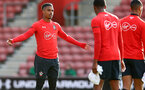 SOUTHAMPTON, ENGLAND - MAY 08: Mario Lemina during a Southampton FC open training session at St Mary's Stadium on May 08, 2019 in Southampton, England. (Photo by Matt Watson/Southampton FC via Getty Images)