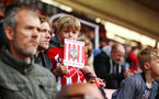 SOUTHAMPTON, ENGLAND - MAY 08: Young fans during a Southampton FC open training session at St Mary's Stadium on May 08, 2019 in Southampton, England. (Photo by James Bridle - Southampton FC/Southampton FC via Getty Images)