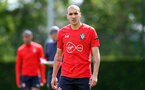 SOUTHAMPTON, ENGLAND - MAY 10: Oriol Romeu during a Southampton FC training session at the Staplewood Campus on May 10, 2019 in Southampton, England. (Photo by Matt Watson/Southampton FC via Getty Images)