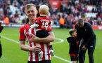 SOUTHAMPTON, ENGLAND - MAY 12: James Ward-Prowse during the Premier League match between Southampton FC and Huddersfield Town at St Mary's Stadium on May 12, 2019 in Southampton, United Kingdom. (Photo by Matt Watson/Southampton FC via Getty Images)