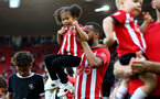 SOUTHAMPTON, ENGLAND - MAY 12: Ryan Bertrand during the Premier League match between Southampton FC and Huddersfield Town at St Mary's Stadium on May 12, 2019 in Southampton, United Kingdom. (Photo by Matt Watson/Southampton FC via Getty Images)
