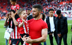 SOUTHAMPTON, ENGLAND - MAY 12: Shane Long during the Premier League match between Southampton FC and Huddersfield Town at St Mary's Stadium on May 12, 2019 in Southampton, United Kingdom. (Photo by Matt Watson/Southampton FC via Getty Images)