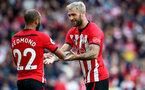 SOUTHAMPTON, ENGLAND - MAY 12: Charlie Austin of Southampton during the Premier League match between Southampton FC and Huddersfield Town at St Mary's Stadium on May 12, 2019 in Southampton, United Kingdom. (Photo by Matt Watson/Southampton FC via Getty Images)