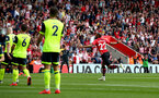 SOUTHAMPTON, ENGLAND - MAY 12: Nathan Redmond during the Premier League match between Southampton FC and Huddersfield Town at St Mary's Stadium on May 12, 2019 in Southampton, United Kingdom. (Photo by Matt Watson/Southampton FC via Getty Images)