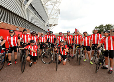 Big Bike Challenge raises £27,000 for Saints Foundation