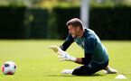 SOUTHAMPTON, ENGLAND - JULY 03: Fraser Forster during a Southampton FC pre-season training session at the Staplewood Campus on July 03, 2019 in Southampton, England. (Photo by Matt Watson/Southampton FC via Getty Images)