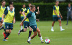 SOUTHAMPTON, ENGLAND - JULY 03: Jordy Clasie  during a Southampton FC pre-season training session at the Staplewood Campus on July 03, 2019 in Southampton, England. (Photo by Matt Watson/Southampton FC via Getty Images)