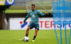 SCHRUNS, AUSTRIA - JULY 08: Cedric Soares during a Southampton FC pre season training session, on July 08, 2019 in Schruns, Austria. (Photo by Matt Watson/Southampton FC via Getty Images)