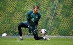 SCHRUNS, AUSTRIA - JULY 09: Angus Gunn during a Southampton FC pre-season training session, on July 09, 2019 in Schruns, Austria. (Photo by Matt Watson/Southampton FC via Getty Images)