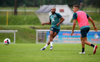 SCHRUNS, AUSTRIA - JULY 09: Nathan Redmond during a Southampton FC pre-season training session, on July 09, 2019 in Schruns, Austria. (Photo by Matt Watson/Southampton FC via Getty Images)
