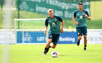 SCHRUNS, AUSTRIA - JULY 09: James Ward-Prowse during a Southampton FC pre-season training session, on July 09, 2019 in Schruns, Austria. (Photo by Matt Watson/Southampton FC via Getty Images)