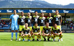 ALTACH, AUSTRIA - JULY 14: The Southampton FC starting eleven during the pre-season friendly match between SCR Altach and Southampton FC at The Cashpoint Arena on July 14, 2019 in Altach, Austria. (Photo by Matt Watson/Southampton FC via Getty Images)