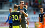 ALTACH, AUSTRIA - JULY 14: Ralph Hasenhuttl during the pre-season friendly match between SCR Altach and Southampton FC at The Cashpoint Arena on July 14, 2019 in Altach, Austria. (Photo by Matt Watson/Southampton FC via Getty Images)