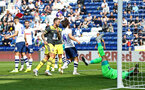 PRESTON, ENGLAND - JULY 20: Danny ings of Southampton scores (middle) during the pre-season friendly game between Preston North End and Southampton FC pictured at Deepdale on July 20, 2019 in Preston, England. (Photo by James Bridle - Southampton FC/Southampton FC via Getty Images)