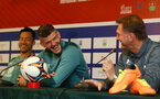 Fraser Forster during a Southampton FC press conference while on their Pre Season trip to Macau, China, 22nd July 2019
