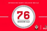 Be the first to try the new Saints ale!