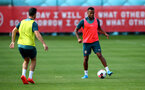 SOUTHAMPTON, ENGLAND - AUGUST 02: Ryan Bertrand during a Southampton FC pre season training session at the Staplewood Campus on August 02, 2019 in Southampton, England. (Photo by Matt Watson/Southampton FC via Getty Images)