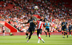 SOUTHAMPTON, ENGLAND - AUGUST 03: LtoR Kingsley Osezele of FC Kšln takes on Nathan Redmond of Southampton during the Pre-Season Friendly match between Southampton FC and FC Kšln pictured at St. Mary's Stadium on August 03, 2019 in Southampton, England. (Photo by James Bridle - Southampton FC/Southampton FC via Getty Images) SOUTHAMPTON, ENGLAND - AUGUST 03: LtoR Kingsley Osezele of FC Köln takes on Nathan Redmond of Southampton during the Pre-Season Friendly match between Southampton FC and FC Köln pictured at St. Mary's Stadium on August 03, 2019 in Southampton, England. (Photo by James Bridle - Southampton FC/Southampton FC via Getty Images)